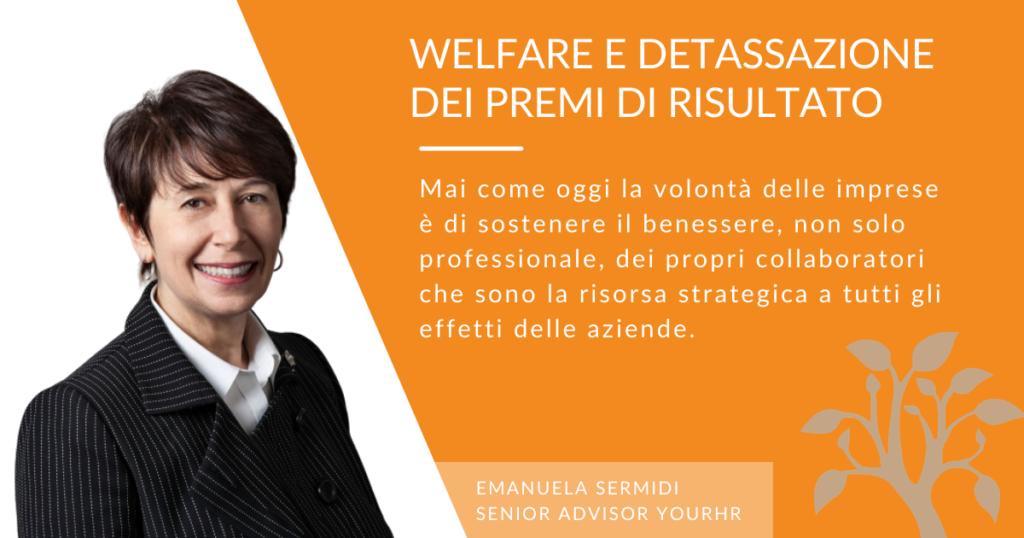 welfare e detassazione premi di risultato - yourHR